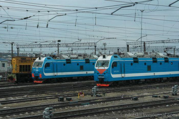 Фотоотчет о поездке на первом двухэтажном поезде РЖД (48 фото)