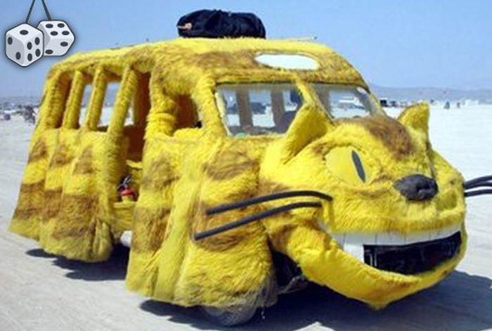 Необычный и необъяснимый тюнинг авто (41 фото)