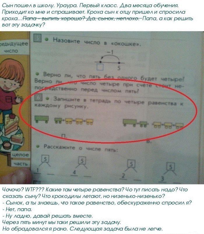 Креативная подача школьного материала (5 фото)