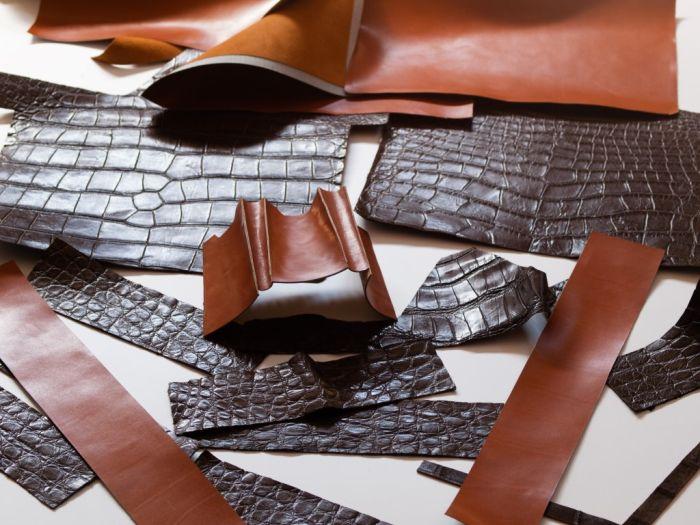 Производство сумок из крокодильей кожи (66 фото)