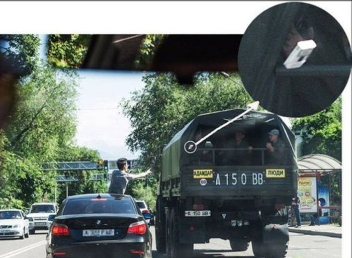 Подборка автомобильных приколов. Часть 37 (40 фото)