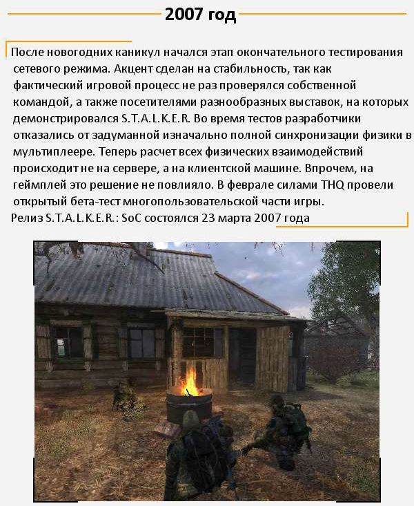 Как создавалась игра S.T.A.L.K.E.R. (8 картинок)