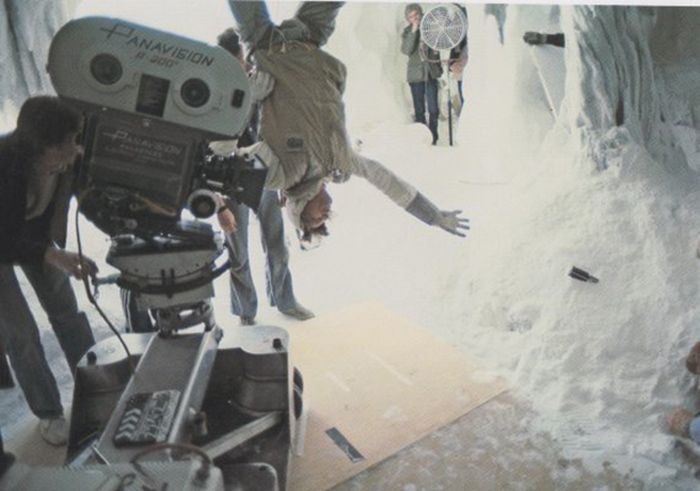 "Кадры со съемок ""Звездных войн"" (50 фото)"