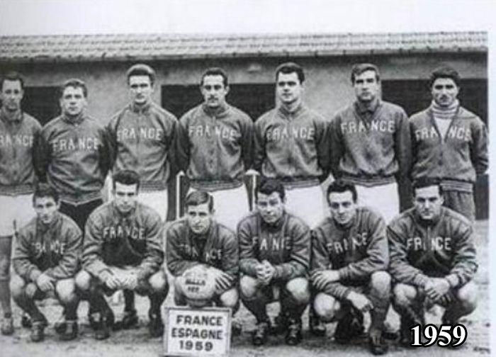 "Сборная Франции по футболу ""тогда и сейчас"" (4 фото)"