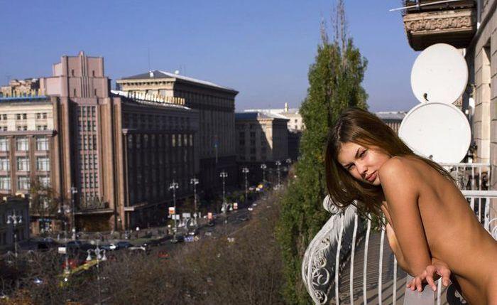 Солнечное ноябрьское утро по-киевски (21 фото)