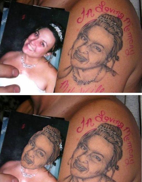 Оживляем паршивые татуировки (13 фото)