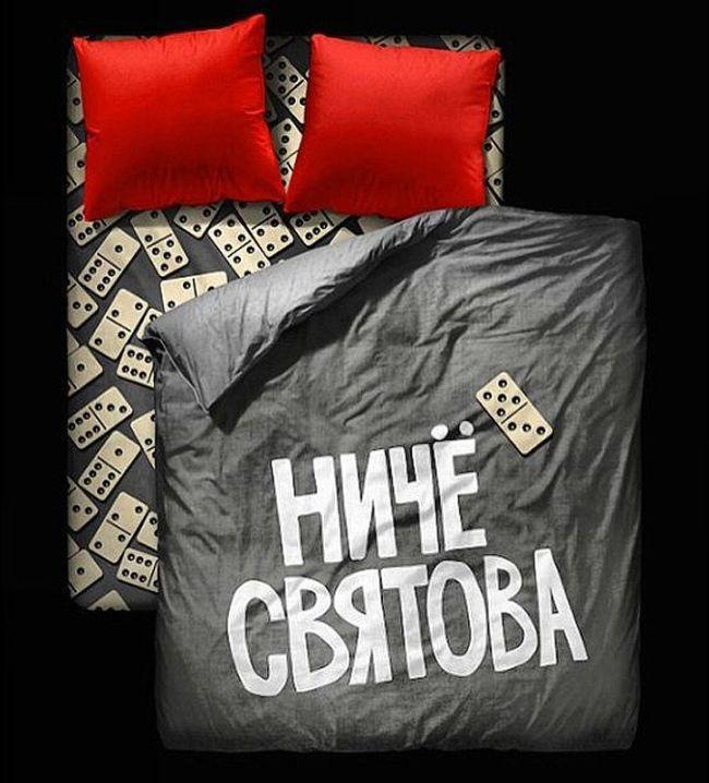 Креативное и забавное постельное белье (11 фото)