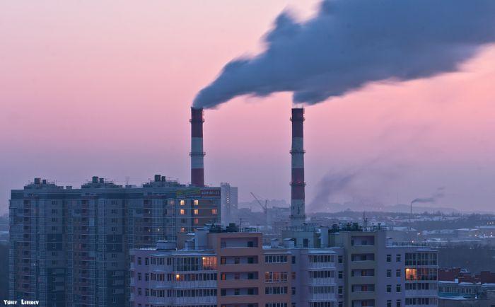 Фотопрогулка по крышам Нижнего Новгорода (40 фото)