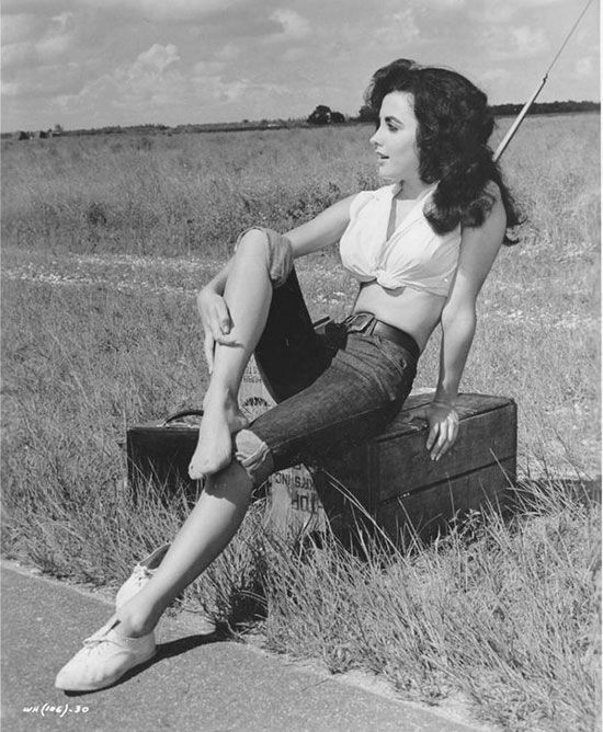 Красотки середины 20 века (35 фото)