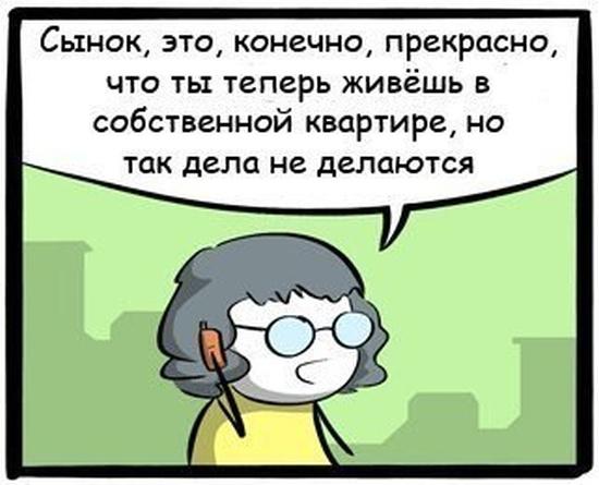 Жизненный комикс про взрослую жизнь (7 картинок)