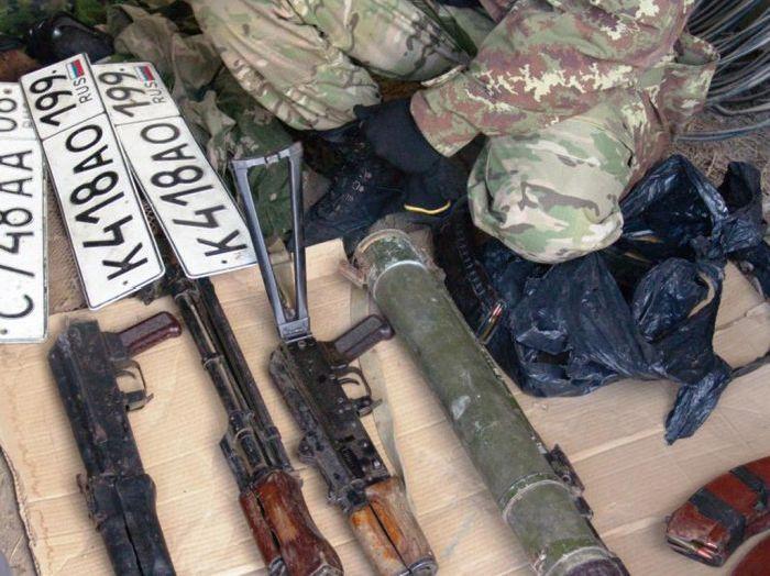 Захват бандитов в Плиево (14 фото + видео)