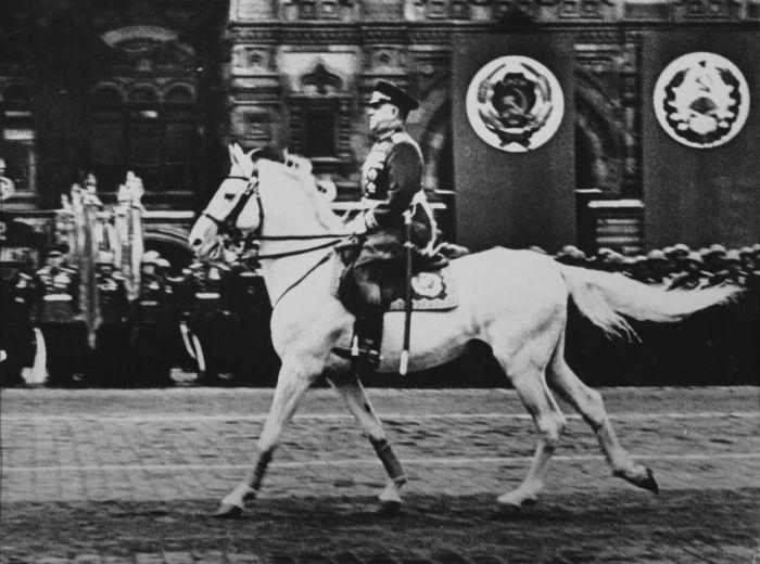 Редкие факты о жизни Георгия Жукова (8 фото)