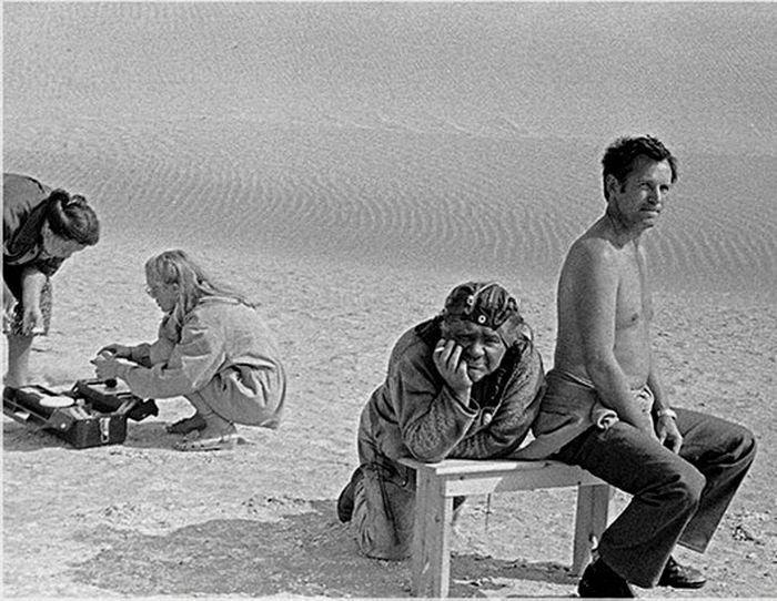 Архивные фотографии со съемок легендарных советских фильмов (78 фото)