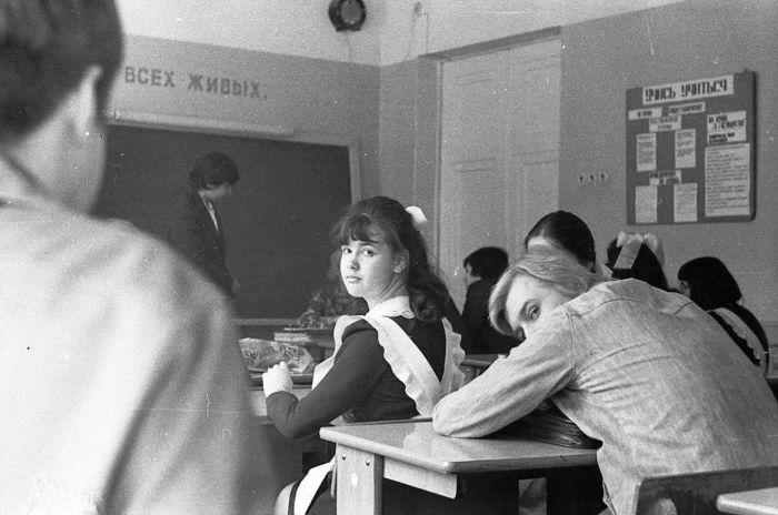 Старшеклассники Советской эпохи (51 фото)