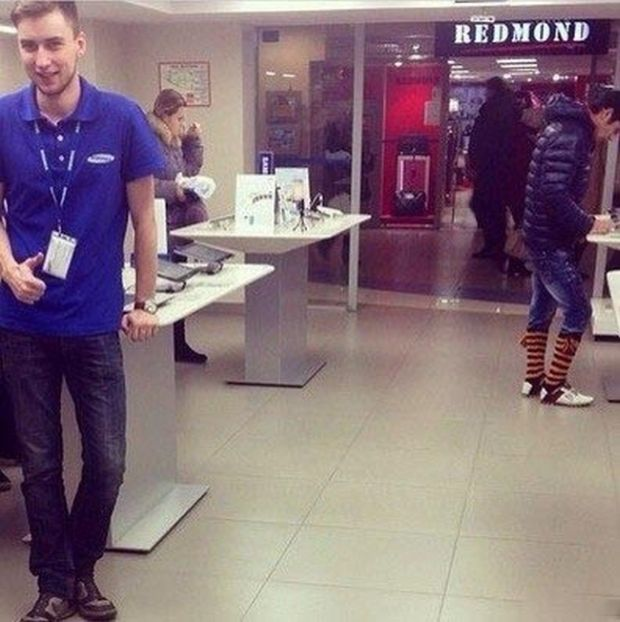 Новый виток моды на обувь (8 фото)