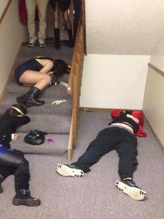 Как отдыхают зарубежные студенты. Часть 10 (44 фото)