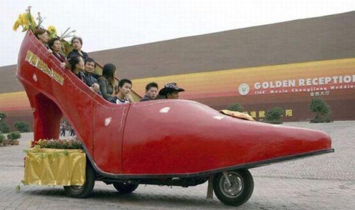 Странный тюнинг и необычные автомобили (40 фото)