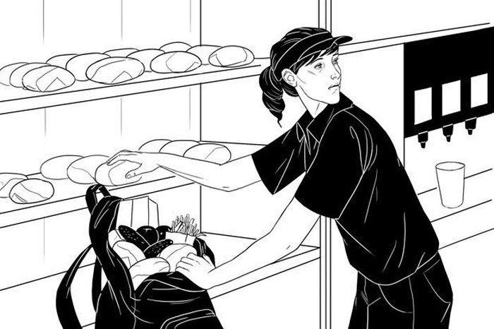 Как все устроено: Работник McDonald's (3 фото)