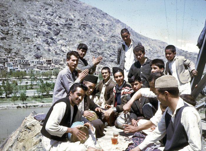 Мирный Афганистан до начала войны