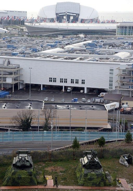 Оборона воздушного пространства во время Олимпиады в Сочи (5 фото)