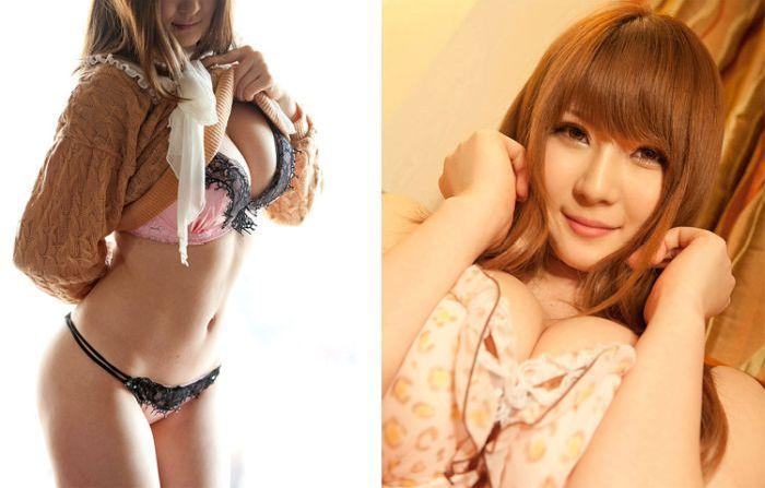 Японская порноактриса в фильмах