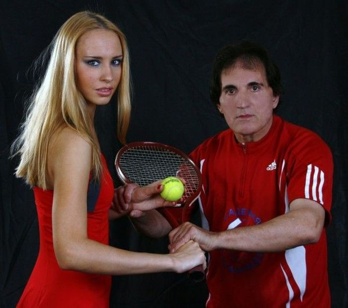 Мастер пикапа - инструктор по теннису Заури (30 фото)