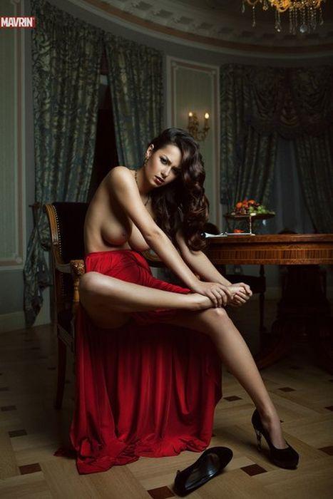 Любимая модель Павла Дурова (63 фото)