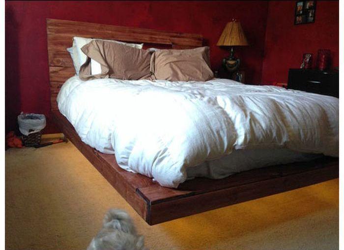 Левитирующая кровать своими руками (14 фото)