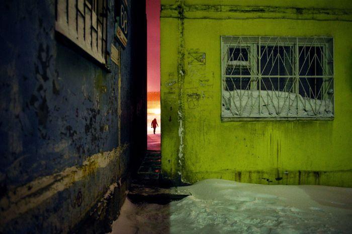 Суровые будни жителей Норильска (54 фото)