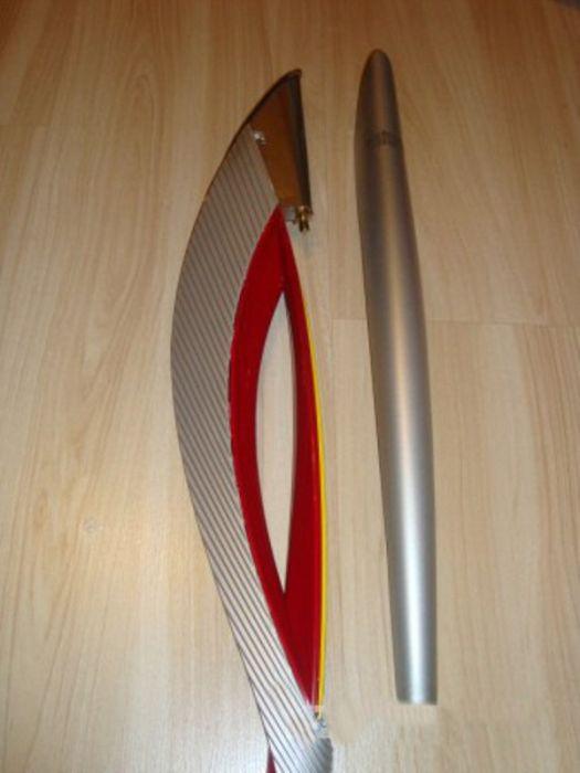Из чего состоит олимпийский факел (16 фото)
