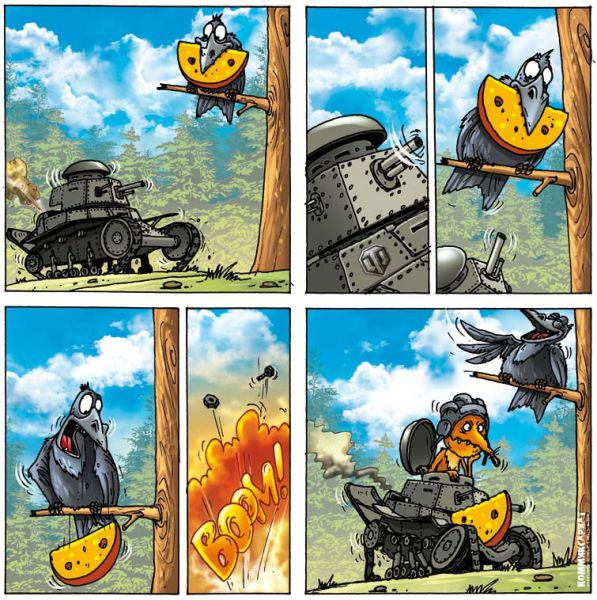 Подборка добрых комиксов (50 фото)