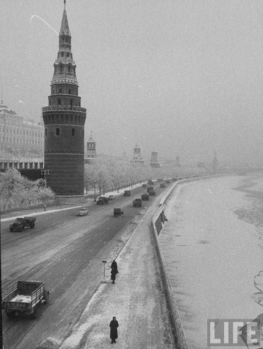 Как выглядела Москва в декабре 1959 года (30 фото)