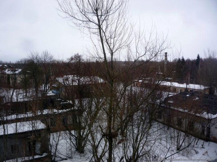 Зимняя фотопрогулка по Чернобыльской Зоне отчуждения (44 фото)