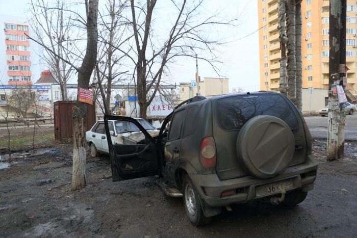 Месть владельцу автомобиля (17 фото)