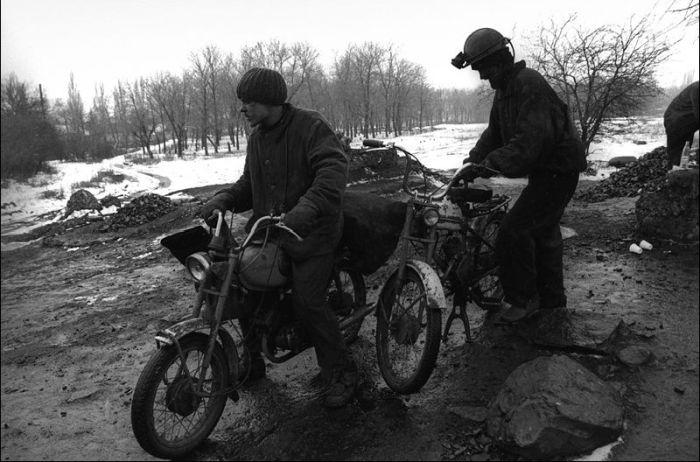Как живется украинским шахтерам (48 фото)