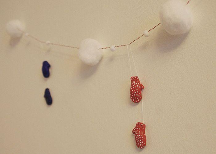 Новогодние украшения своими руками (55 фото)