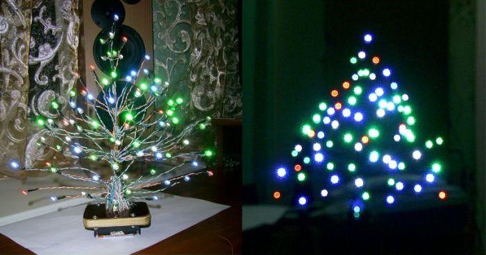 Креативная новогодняя ёлка своими руками (8 фото)