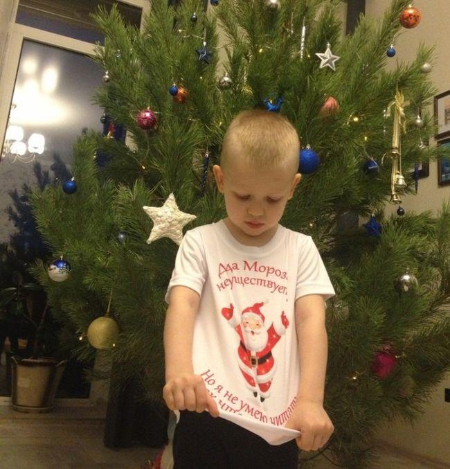 Прикольный подарок для младшего братишки (3 фото)