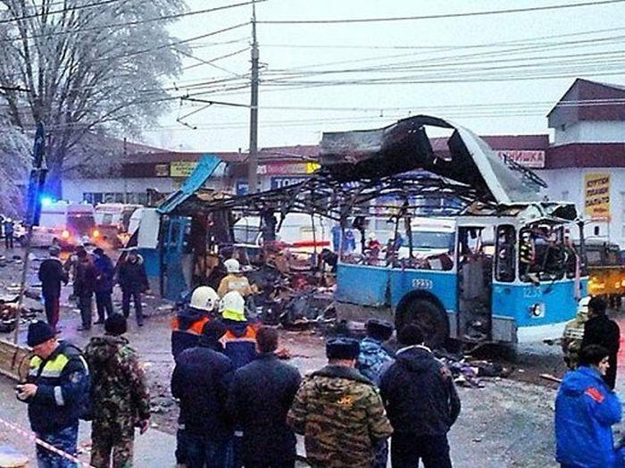 троллейбуса волгограде теракт в фото