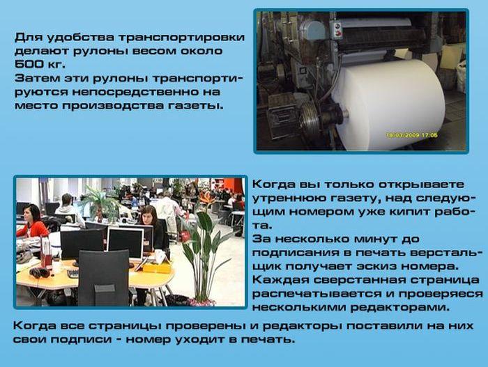 Как производят газеты (5 фото)