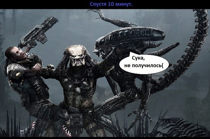 Порно чужой хищник фото 275-456