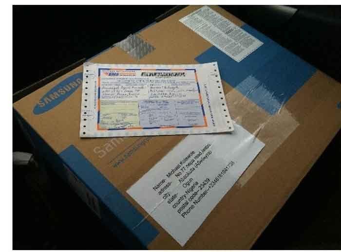 Интернет-афера с доставкой товара (10 фото)
