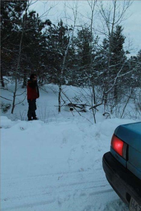 Не бросил погибать на морозе (15 фото)