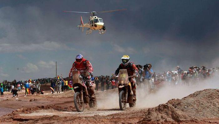 """Фотоотчет с гонки """"Дакар-2014"""" (25 фото)"""