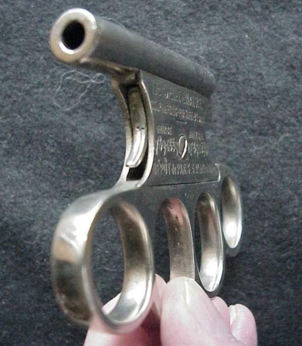 Французский огнестрельный кастет (13 фото)
