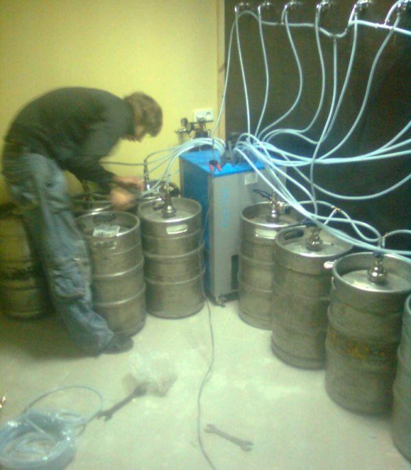Установить пивное оборудование своими руками