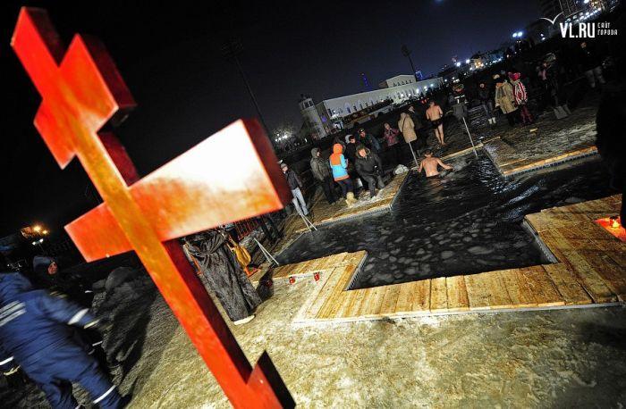 Крещенские купания 2014 (92 фото + видео)