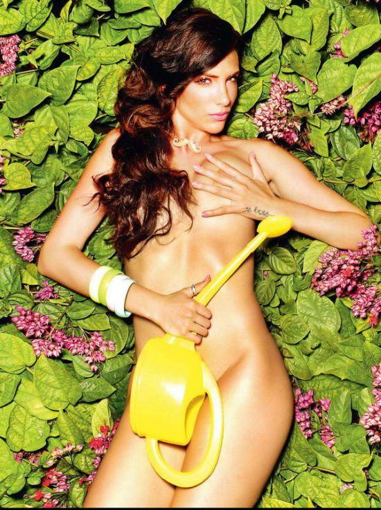 Ула Симоле в откровенной фотосессии для журнала Playboy (10 фото)