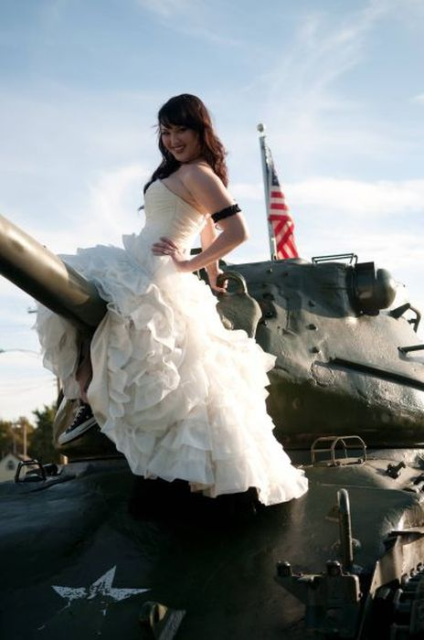 Прикольные свадебные снимки (61 фото)