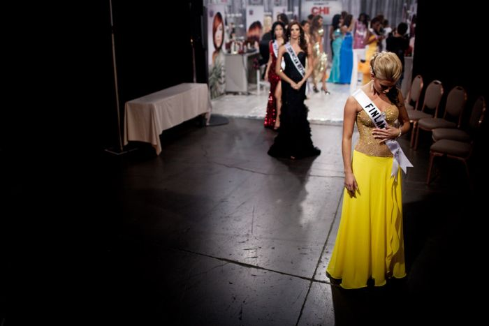 За кулисами конкурсов Мисс США и Мисс Вселенная (48 фото)